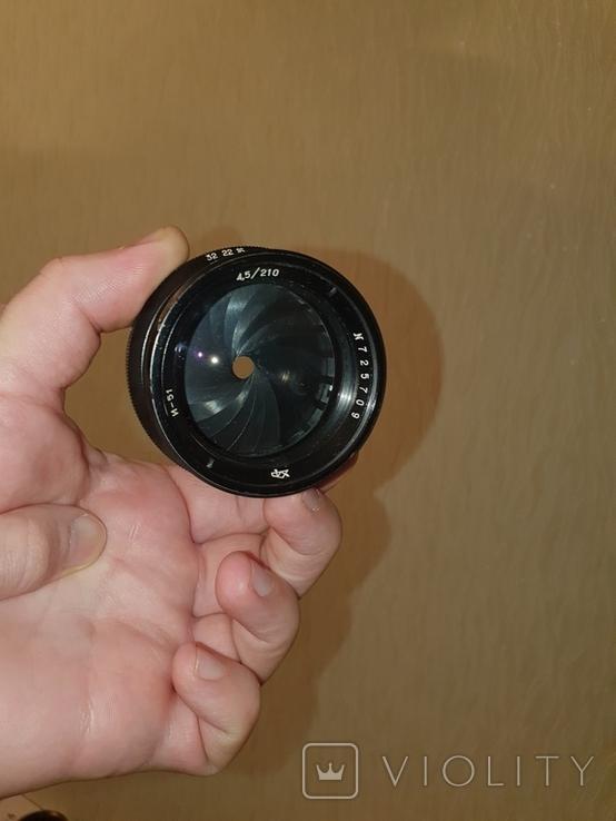 Индустар - 51 (И-51) 4.5/210мм №725709, фото №12