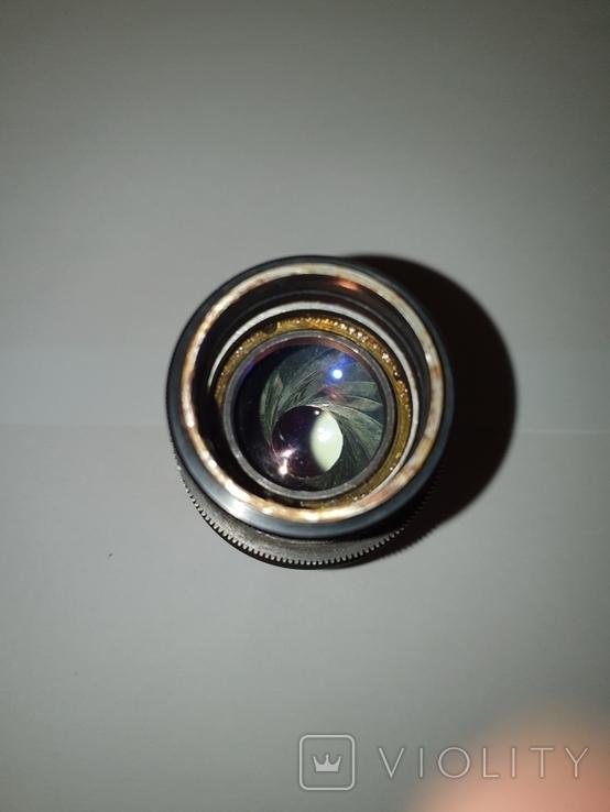 Объектив Ж-25, 1:2, f100mm, редкий, №600603, фото №4