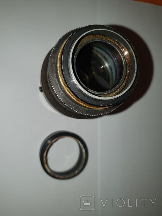 Объектив Ж-25, 1:2, f100mm, редкий, №600603, фото №6