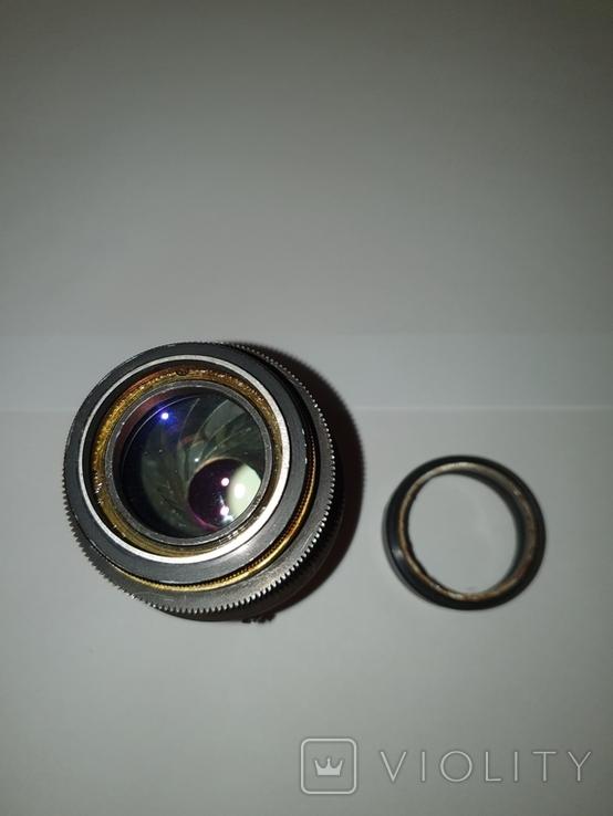 Объектив Ж-25, 1:2, f100mm, редкий, №600603, фото №7