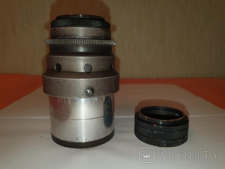 Объектив Ж-25, 1:2, f100mm, редкий, №600603, фото №8