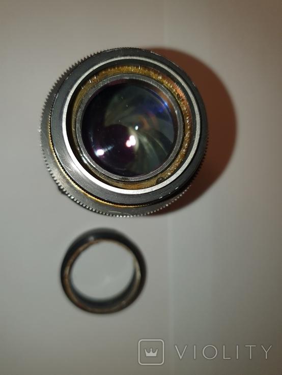 Объектив Ж-25, 1:2, f100mm, редкий, №600603, фото №9