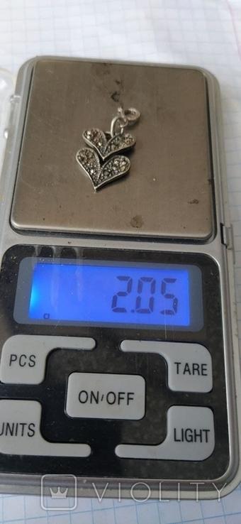 Срібний кулон, фото №2