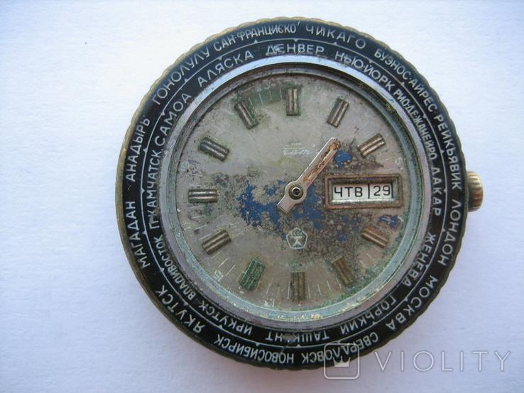 Часы Ракета Города, фото №2