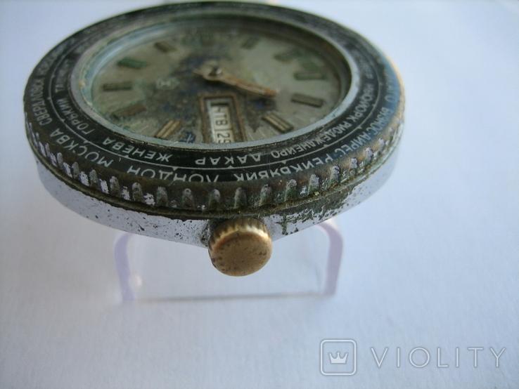 Часы Ракета Города, фото №9