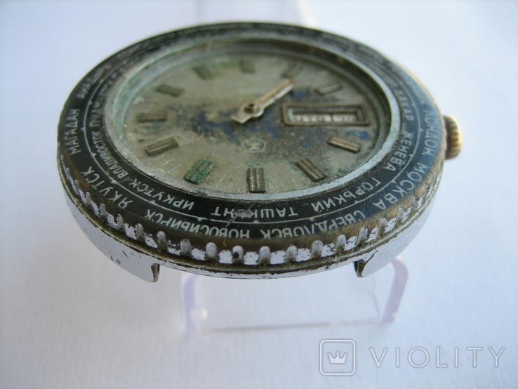 Часы Ракета Города, фото №10