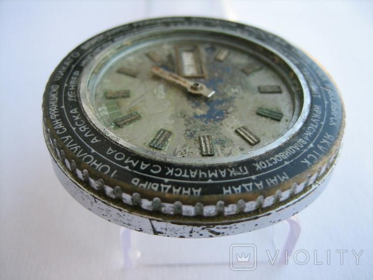 Часы Ракета Города, фото №11