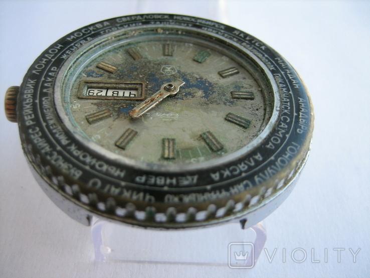 Часы Ракета Города, фото №12