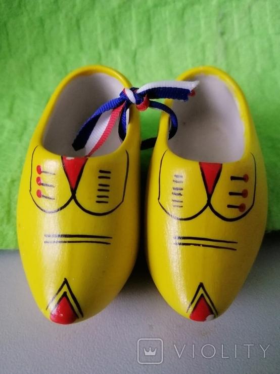 Сабо (керамічні туфлі) Голландія, фото №2