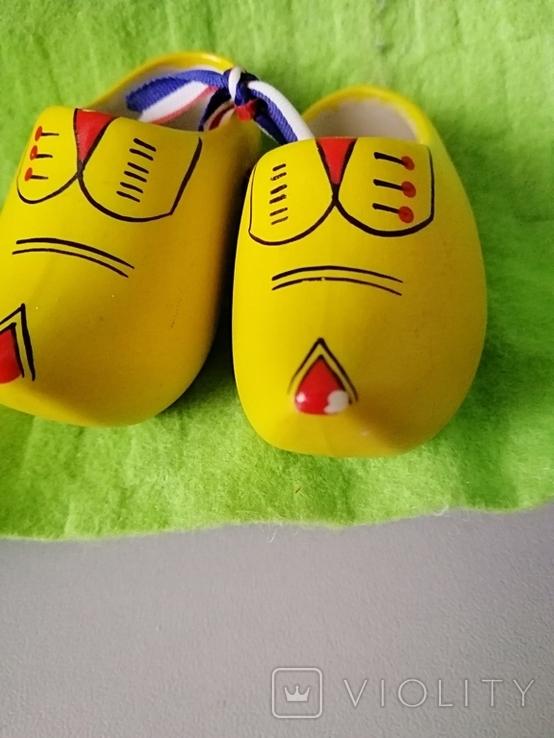 Сабо (керамічні туфлі) Голландія, фото №5