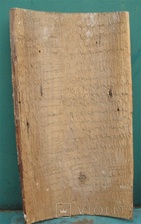 Cв. Николай, 22х12 см, сосновая доска, фото №10
