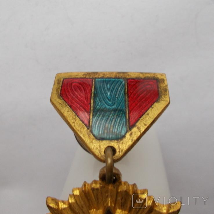 Монголия. Медаль. За победу над Японией. № 45 832, фото №4