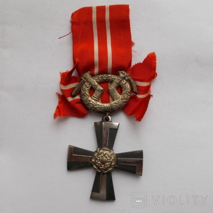 Финляндия. Крест Свободы 4 ст. 1941 г., фото №2