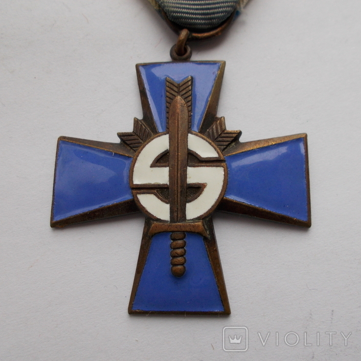 Финляндия. Крест Шюцкора. 1941-1944 г.г., фото №3