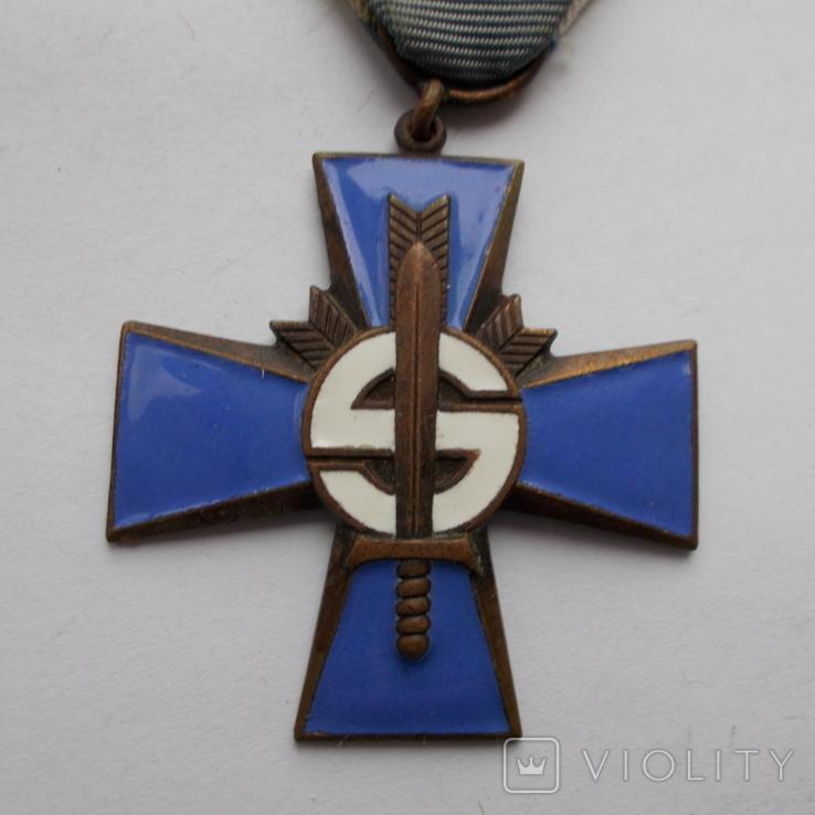 Финляндия. Крест Шюцкора. 1941-1944 г.г., фото №4
