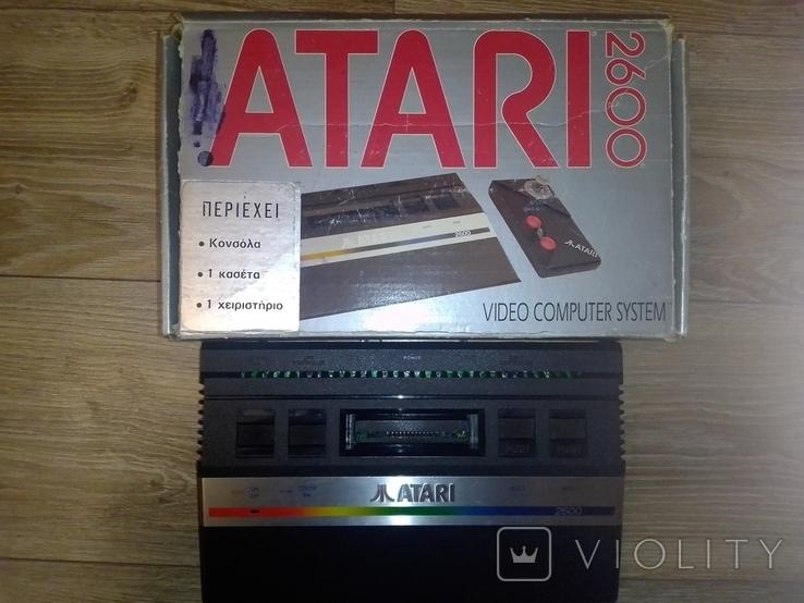 Игровая приставка Atari 2600 оригинал, фото №3