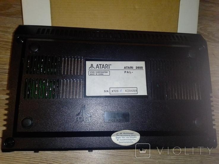 Игровая приставка Atari 2600 оригинал, фото №6
