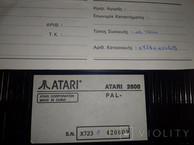 Игровая приставка Atari 2600 оригинал, фото №7