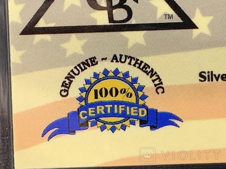Слиток серебра 999 пробы Титаник 2012 производство США USA 1g, фото №4