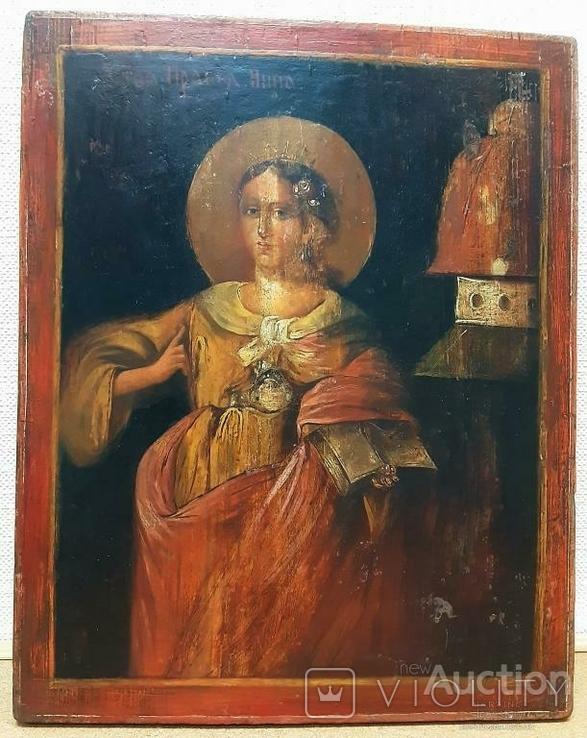 Икона ''Святая Праведная Анна'', фото №2