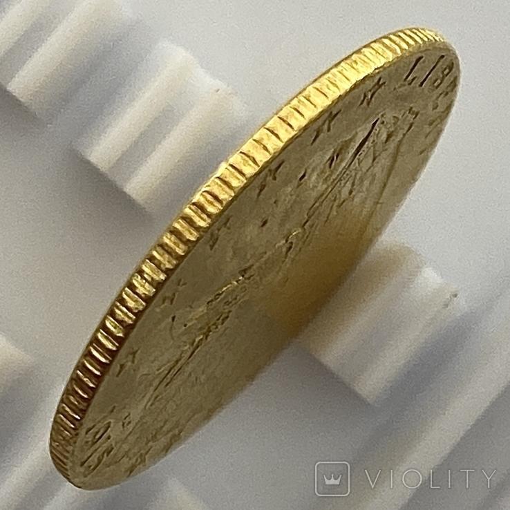 2,5 доллара. 1915. США (золото 900, вес 4,16 г), фото №11