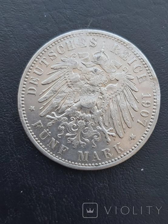 5 марок 1907, фото №3