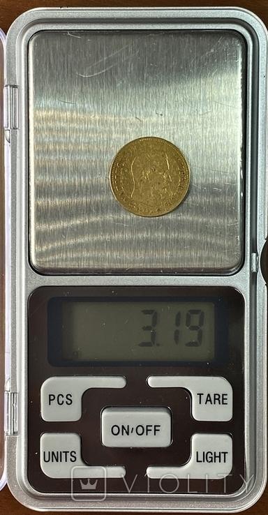 10 франков. 1856. Наполеон III. Франция (золото 900, вес 3,19 г), фото №11