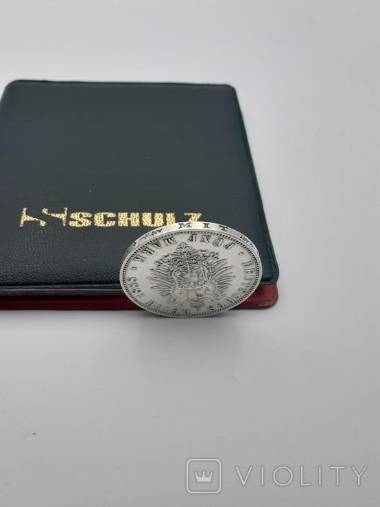 5 марок 1888. Фридрих. Пруссия., фото №4