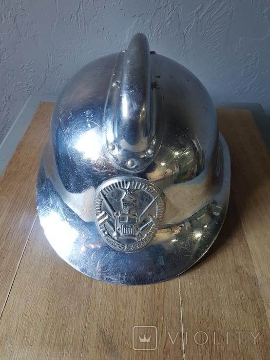 Шлем пожарного сср, фото №2