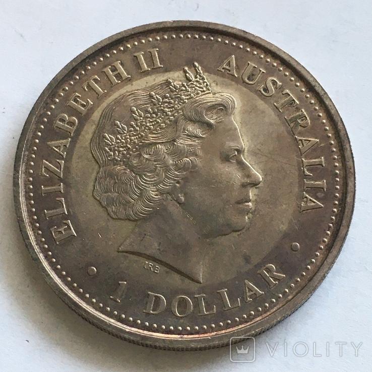1 доллар 2005 года, Австралия, унция, фото №2