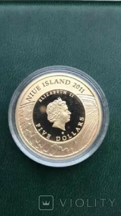 5 Dollars - Elizabeth II Apollo, фото №3