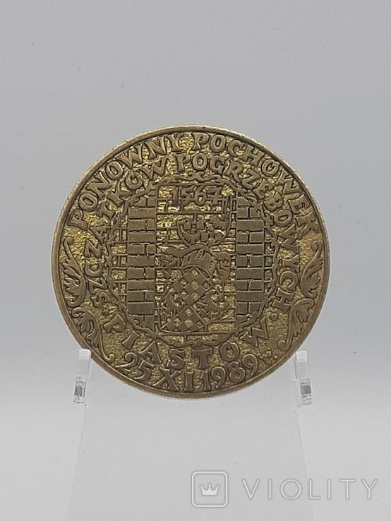 Настольная медаль. Польша., фото №4