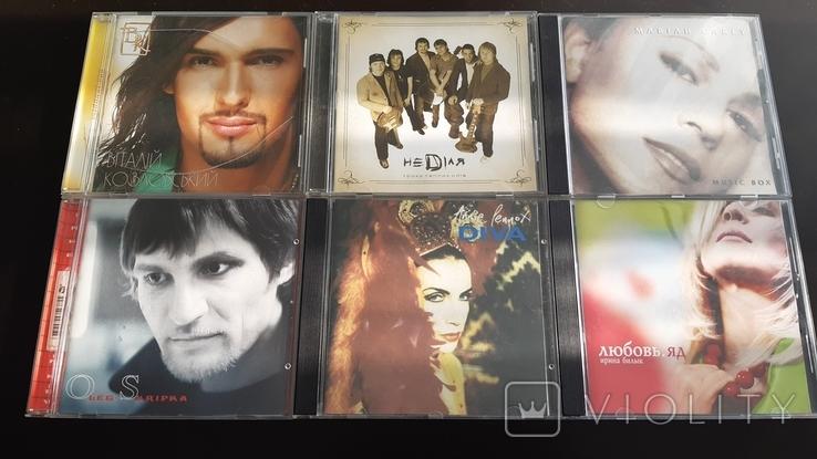 AudioCD студійні 6 шт, фото №2