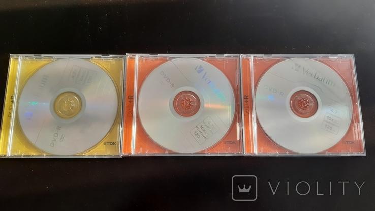 DVD-R Verbatim 3 шт