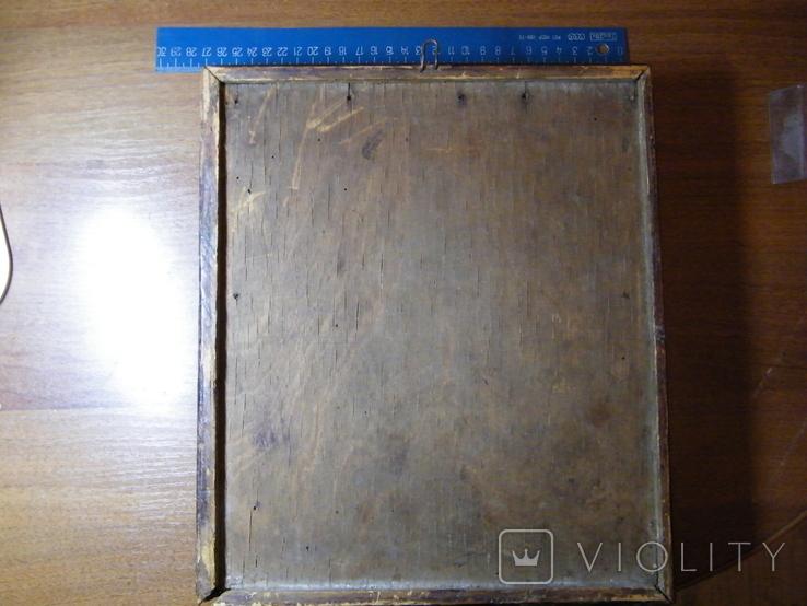 Старинная икона в киоте, фото №5