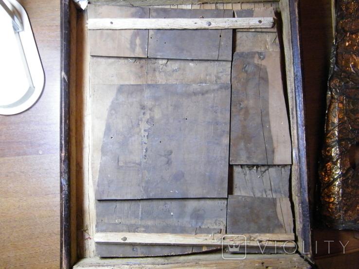 Старинная икона в киоте, фото №8