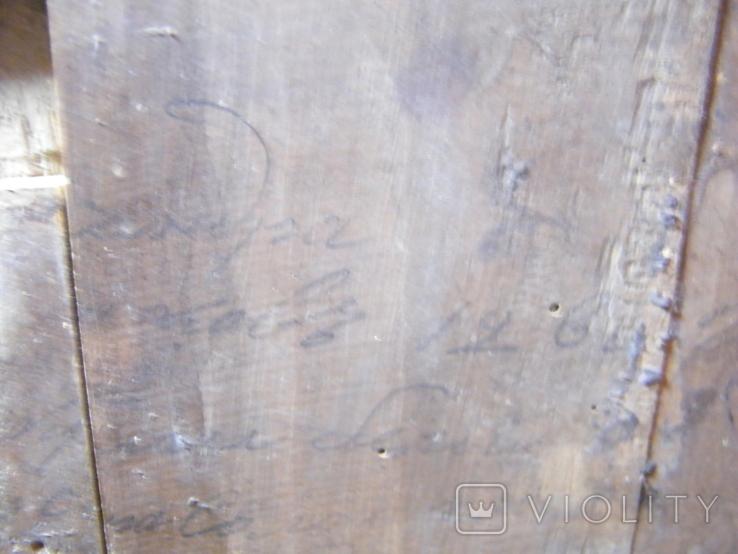 Старинная икона в киоте, фото №10
