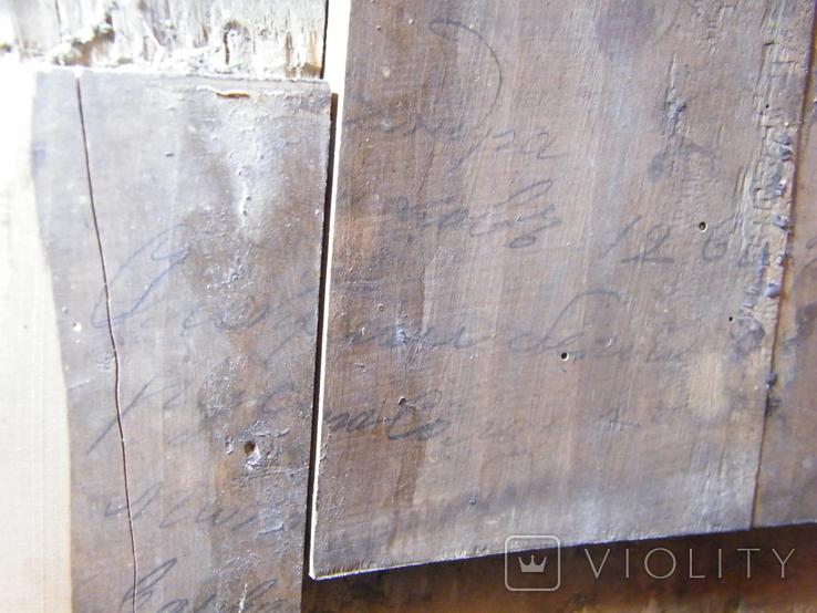 Старинная икона в киоте, фото №11