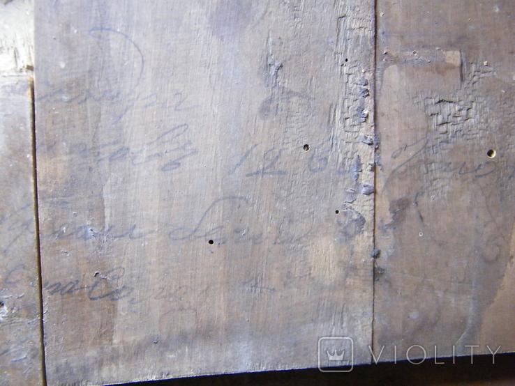 Старинная икона в киоте, фото №12