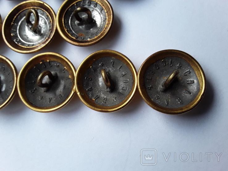 12 пуговиц Орёл на пушках, фото №6