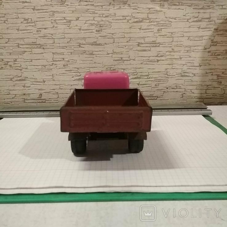 Автомобиль зил метал пластик, фото №5