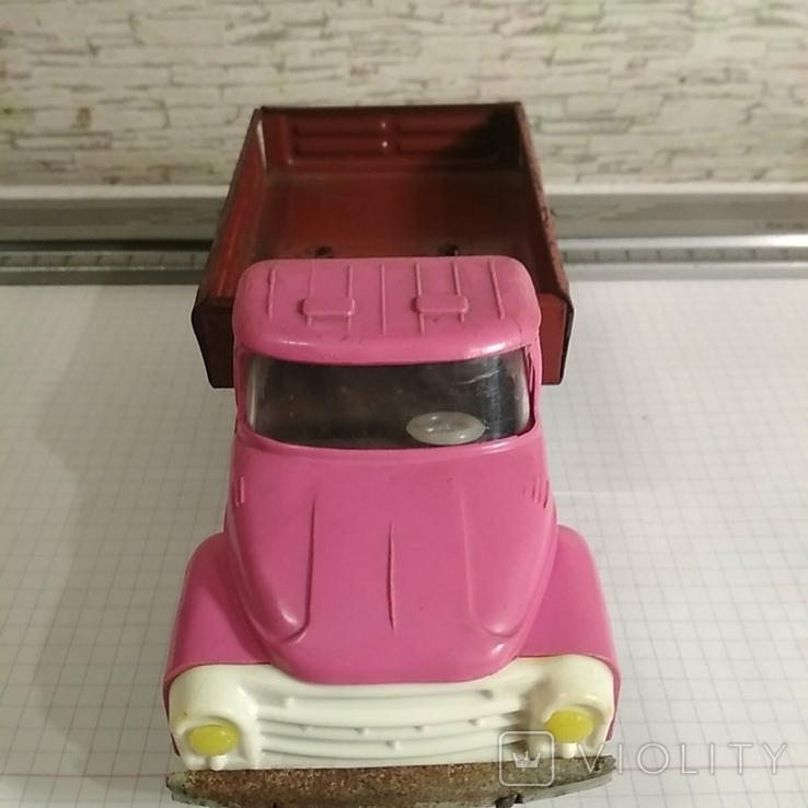 Автомобиль зил метал пластик, фото №7