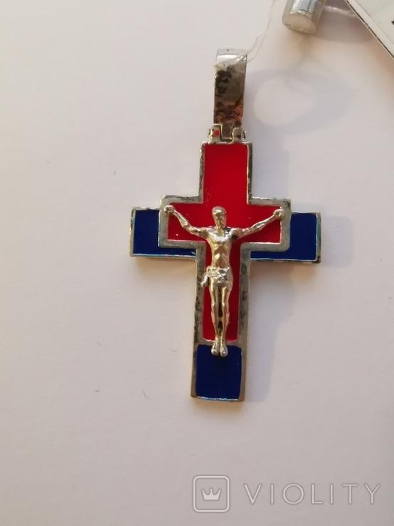 Хрестик срібло (2), фото №6