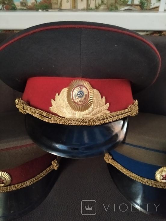Фуражки ведомственные КГБ МВД ПО СССР, фото №3