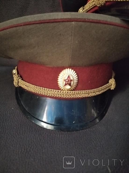 Фуражки ведомственные КГБ МВД ПО СССР, фото №4