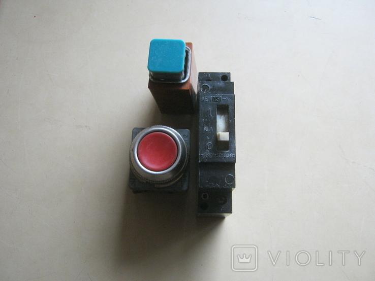 Переключатели СССР разные 3шт., фото №2