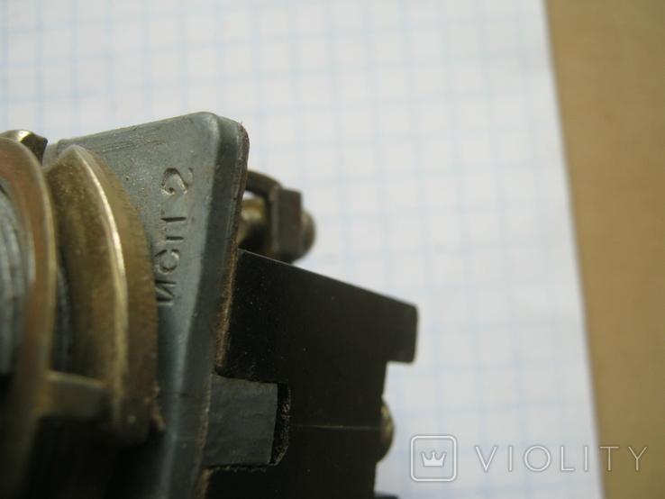 Переключатели СССР разные 3шт., фото №7