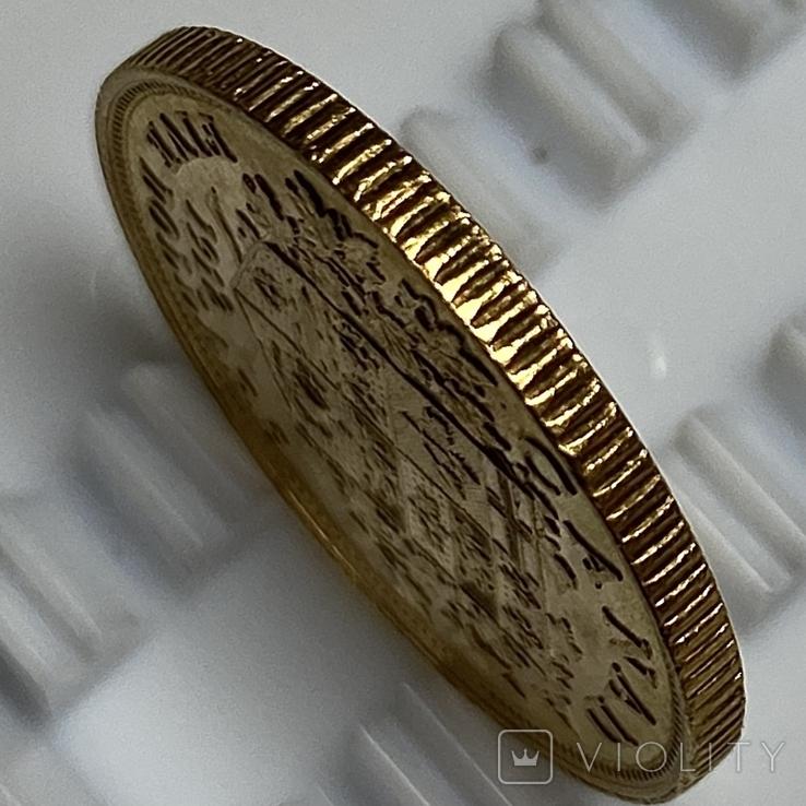 5 долларов. 1912. Георг V. Канада (золото 900, вес 8,37 г), фото №11
