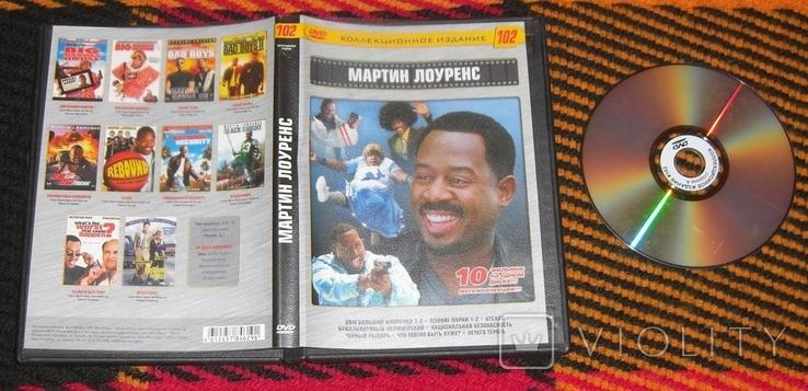 DVD Мартин Лоуренс 10 в 1, фото №2