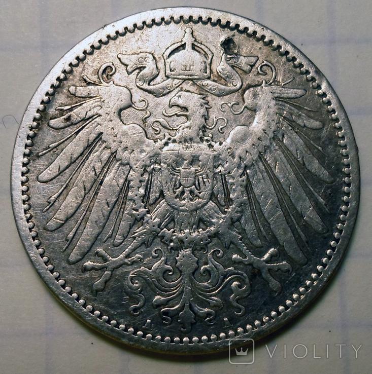 1 марка 1893 г. (А), Германия, фото №3